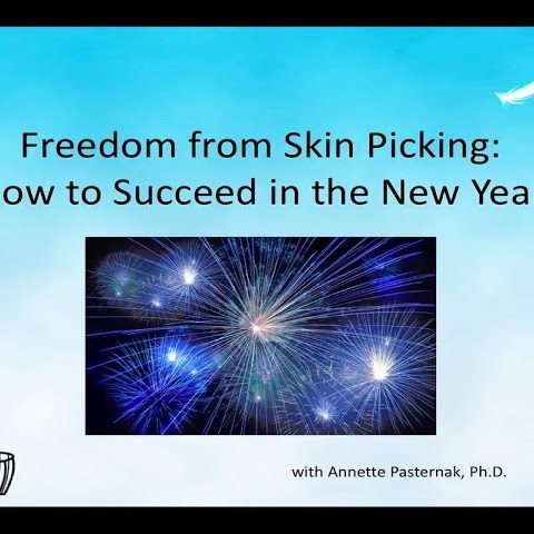 new year skin picking webinar first slide